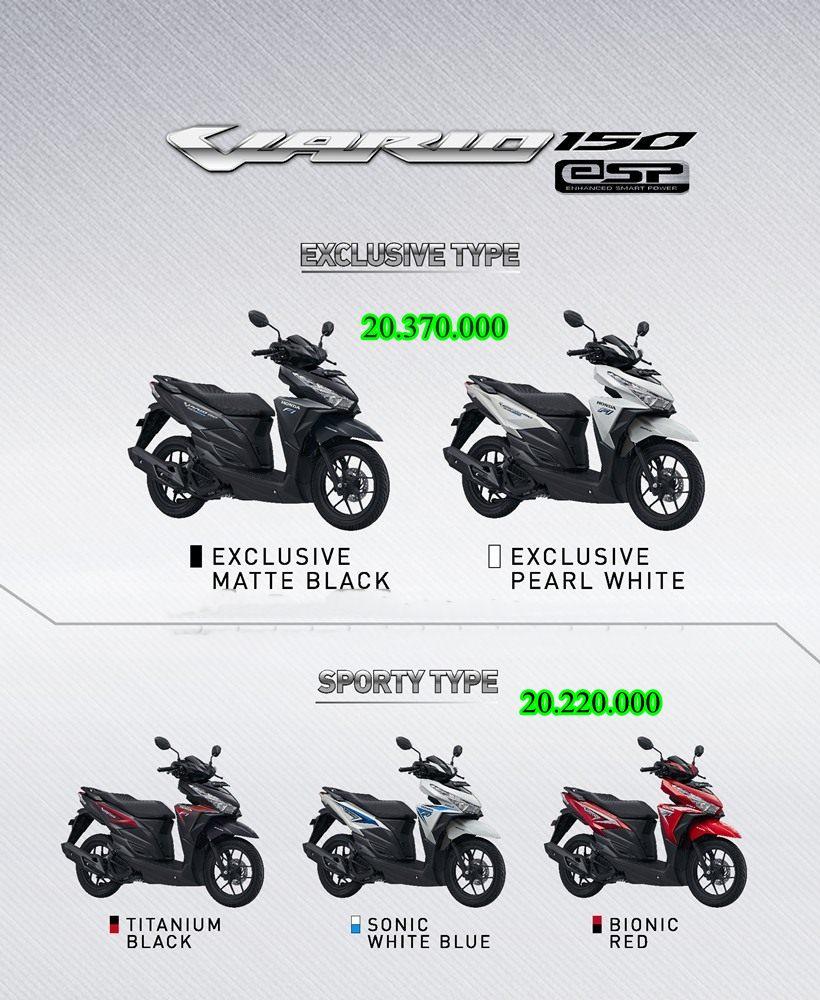 Vario 150 Jogja Kredit Motor Honda Baru Revo Fit Neo Green Kota Semarang